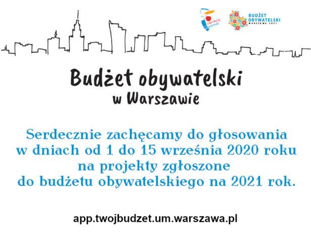 budzet obywatelski plakat