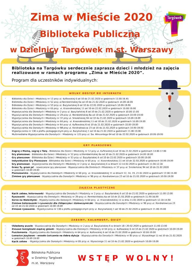 """Warszawska Akcja """"Zima w Mieście"""""""
