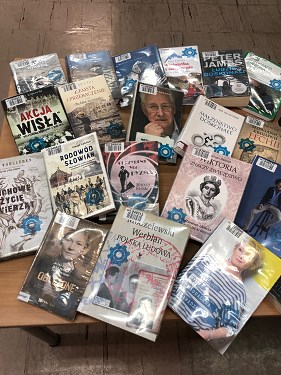 """Projekt nr 314 """"Zakup nowości wydawniczych dla filii biblioteki na Bródnie Podgrodziu"""""""