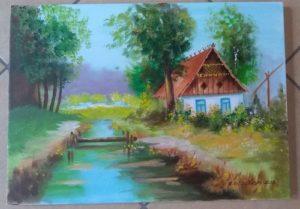 Wystawa prac pana Krzysztofa Budzyńskiego