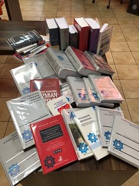 """Projekt nr 1895 """"Zakup książek dla Czytelni Naukowej – gospodarka prawo, przedsiębiorczość"""""""