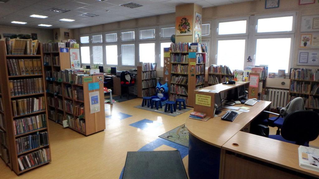 Wnętrze Biblioteki dla Dzieci i Młodzieży nr 12
