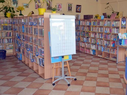 """Projekt nr 16 """"Doposażenie bibliotek na Bródnie"""" - BD52"""