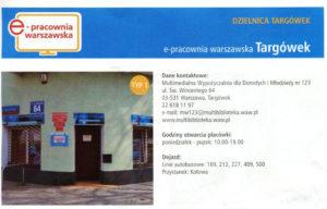 Front e-pracownia Targówek