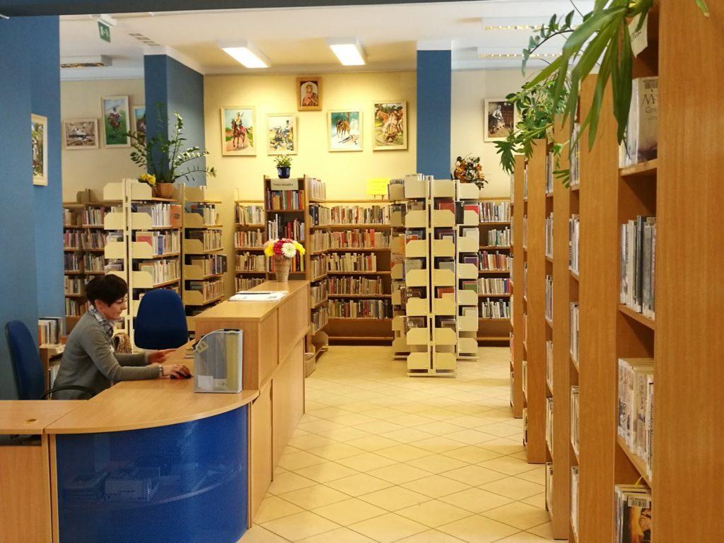 Wnętrze Wypożyczalni dla Dorosłych i Młodzieży nr 2