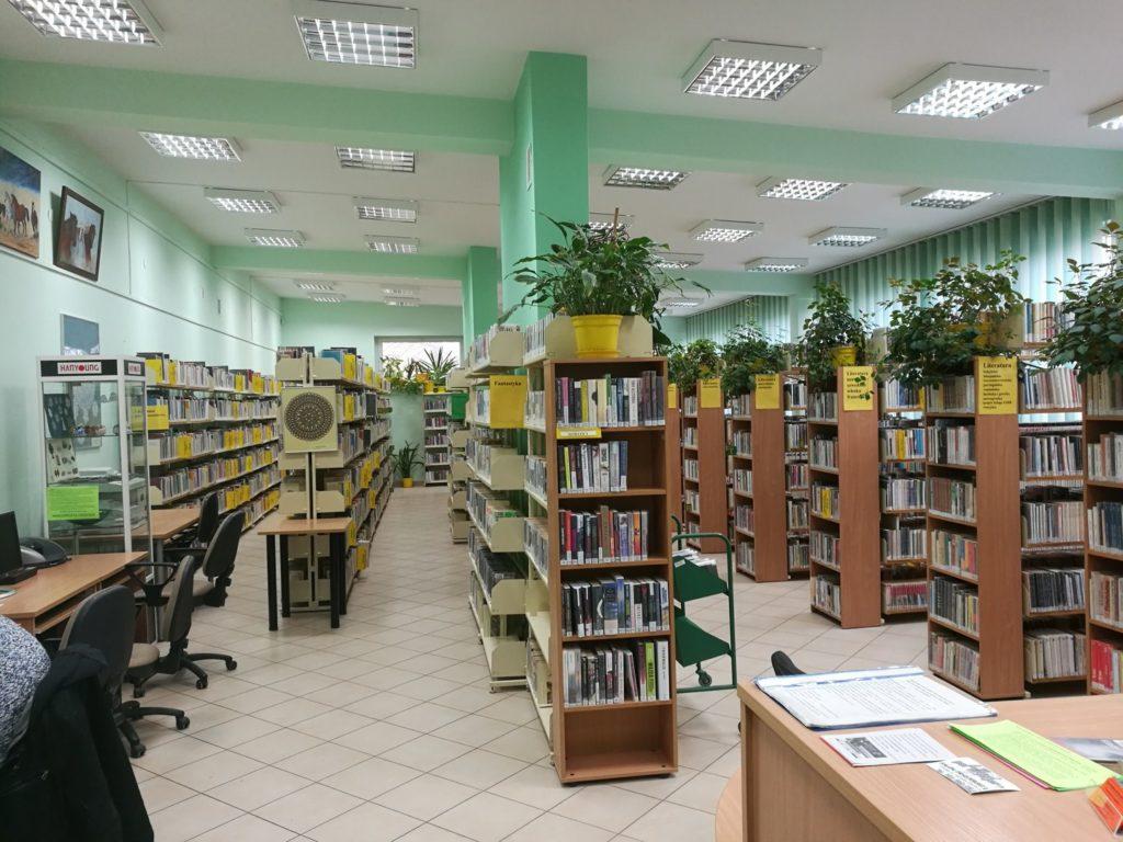 Wnętrze Wypożyczalni dla Dorosłych i Młodzieży nr 72