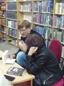 Spotkanie autorskie z Aleksandrem Rogozińskim w W60