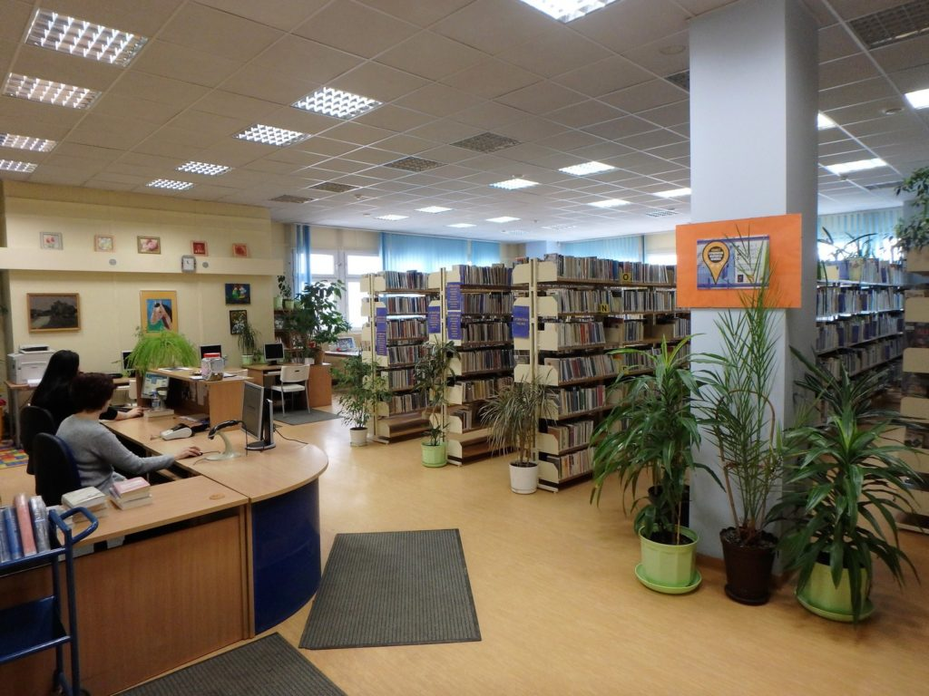 Wnętrze Wypożyczalni dla Dorosłych i Młodzieży nr 64