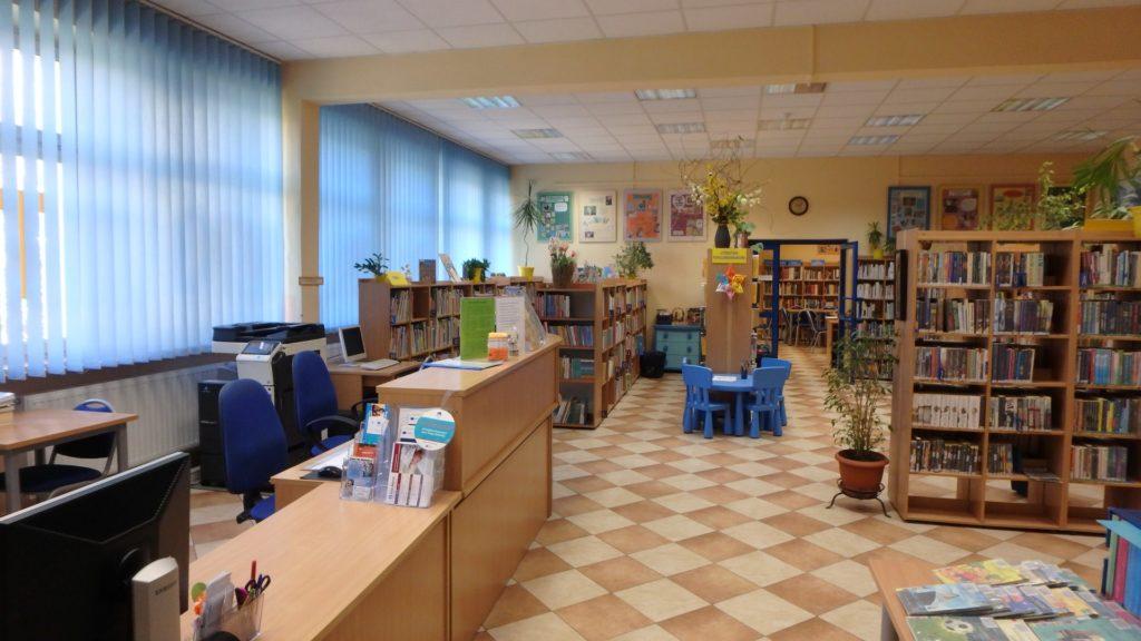 Wnętrze Biblioteki dla Dzieci i Młodzieży nr 52