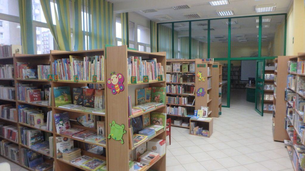 Wnętrze Biblioteki dla Dzieci i Młodzieży nr 40