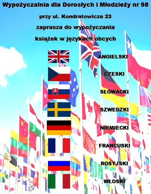 Plakat - literatura obcojęzyczna