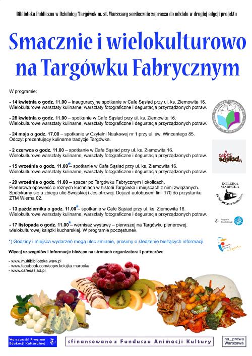Smacznie i wielokulturowo na Targówku Fabrycznym