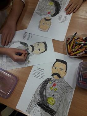 Zajęcia o Józefie Piłsudskim