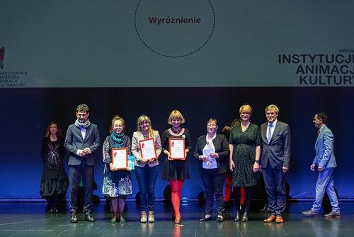 Gala Warszawska Nagroda Edukacji Kulturalnej 2018