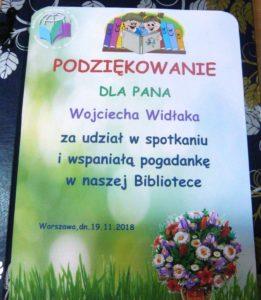 Pan Kuleczka i Wesoły Ryjek w BD65, czyli spotkanie autorskie z Wojciechem Widłakiem
