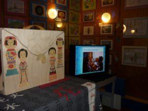 Z teatrzykiem Kamishibai przez pokolenia – projekt sąsiedzki