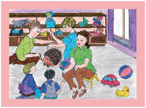 Bajka Niespodzianka w przedszkolu