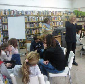 Warsztaty literacko-plastyczne z Klanzą w BD65