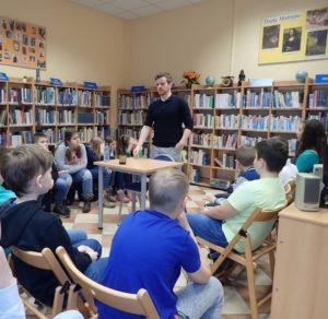 Spotkanie z Łukaszem Jedlińskim w BD52 fot. Sebastian Kosecki