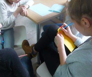 Warsztaty społeczno-literackie z Klanzą w BD65