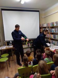 """""""Bezpieczne dzieci"""" – Spotkanie z policjantami w W37"""
