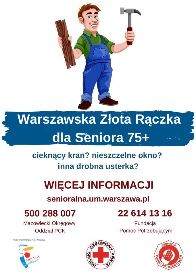 Warszawska Złota Rączka dla Seniora