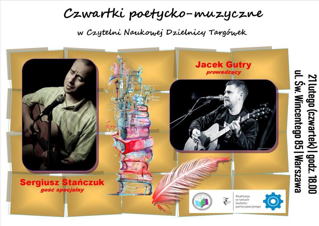 """Drugi """"Czwartek poetycko-muzyczny w Czytelni"""""""