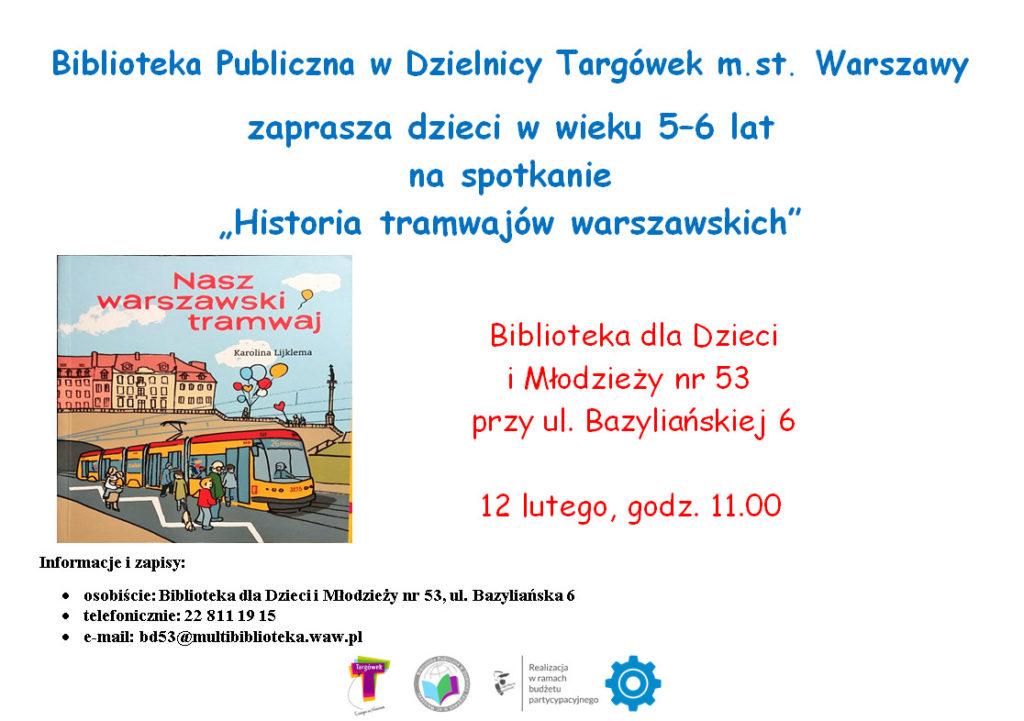 Historia tramwajów warszawskich w BD53