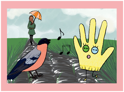 Historia żółtej rękawiczki