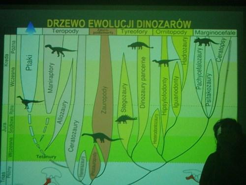Jaja dinozaurów prelekcja w Czytelni Naukowej