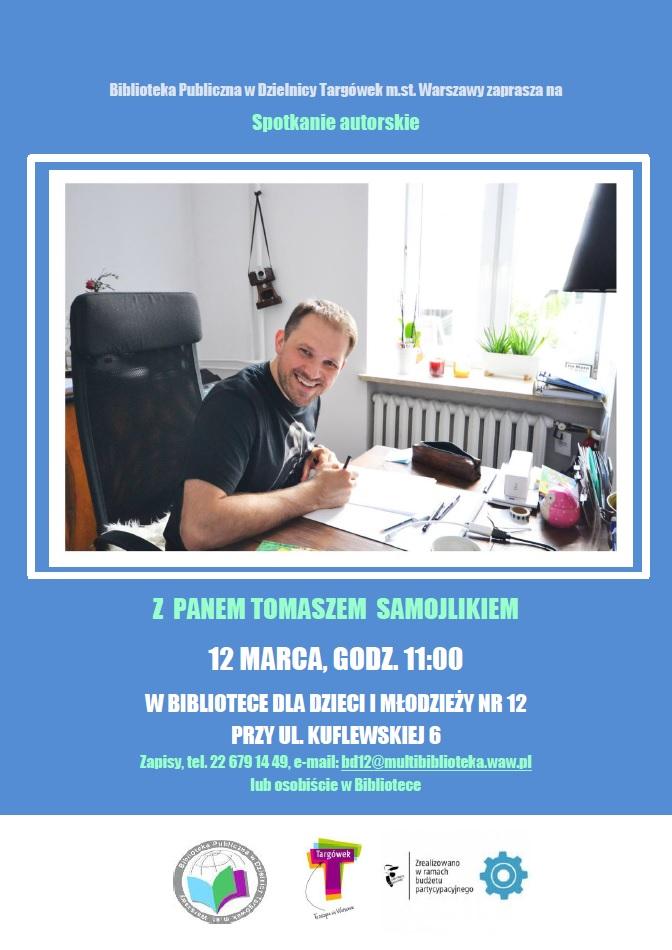 Spotkanie autorskie z Tomaszem Samojlikiem w BD12