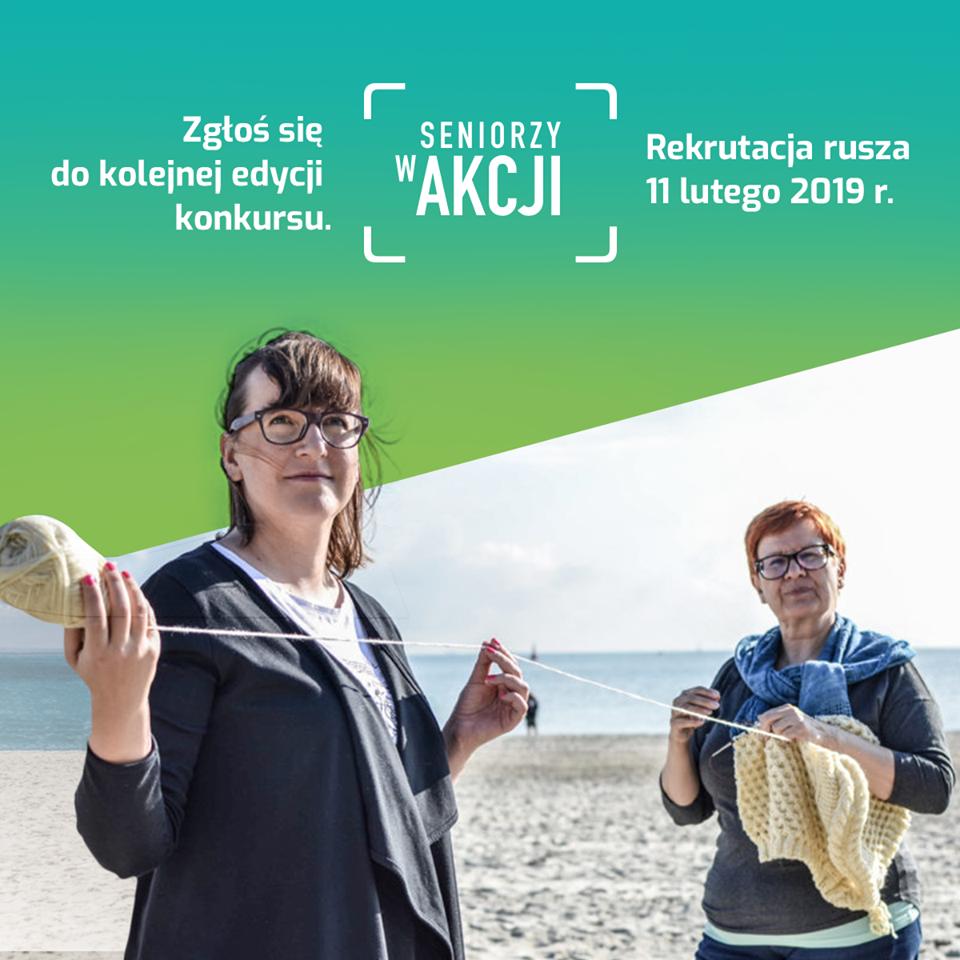 Seniorzy w akcji - rekrutacja do XII edycji konkursu