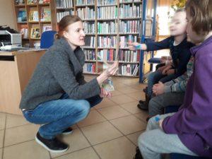 Spotkanie autorskie z Panią Karoliną Lijklemą w BD53