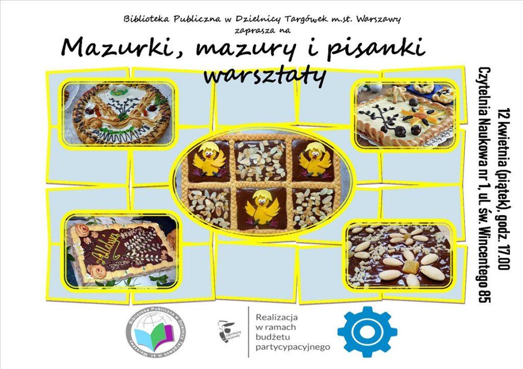 """""""Mazury, mazurki i pisanki"""" - warsztaty w Czytelni"""