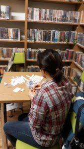 Warsztaty tworzenia origami modułowego z Panią Ireną Krawczyk