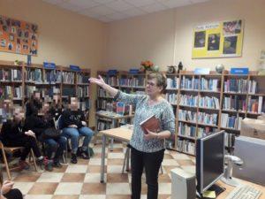 Spotkanie z Grażyną Bąkiewicz w BD52