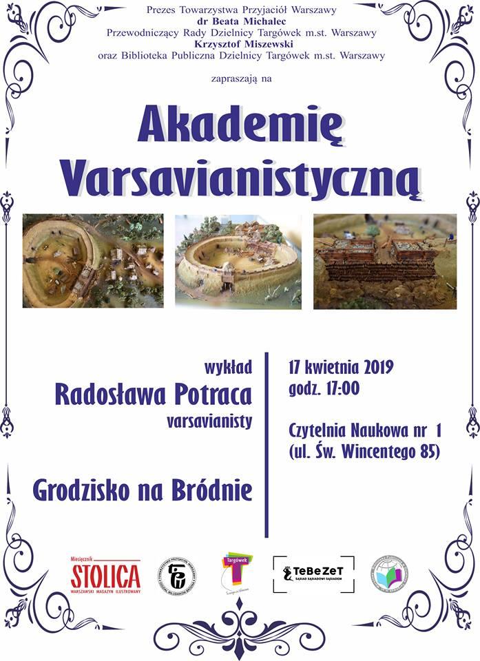 Akademia Varsavianistyczna w Czytelni Naukowej nr I
