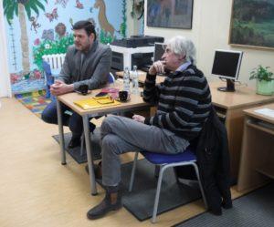 """""""Język mediów a poezja"""" – spotkanie dyskusyjne w W64"""