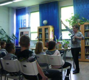 Spotkanie autorskie z panią Grażyną Bąkiewicz w BD65