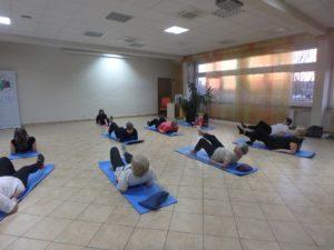 """""""Stretching"""" - prozdrowotna gimnastyka w Czytelni"""