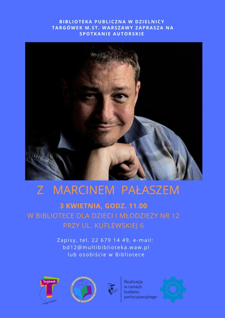 Spotkanie autorskie z Marcinem Pałaszem w BD12