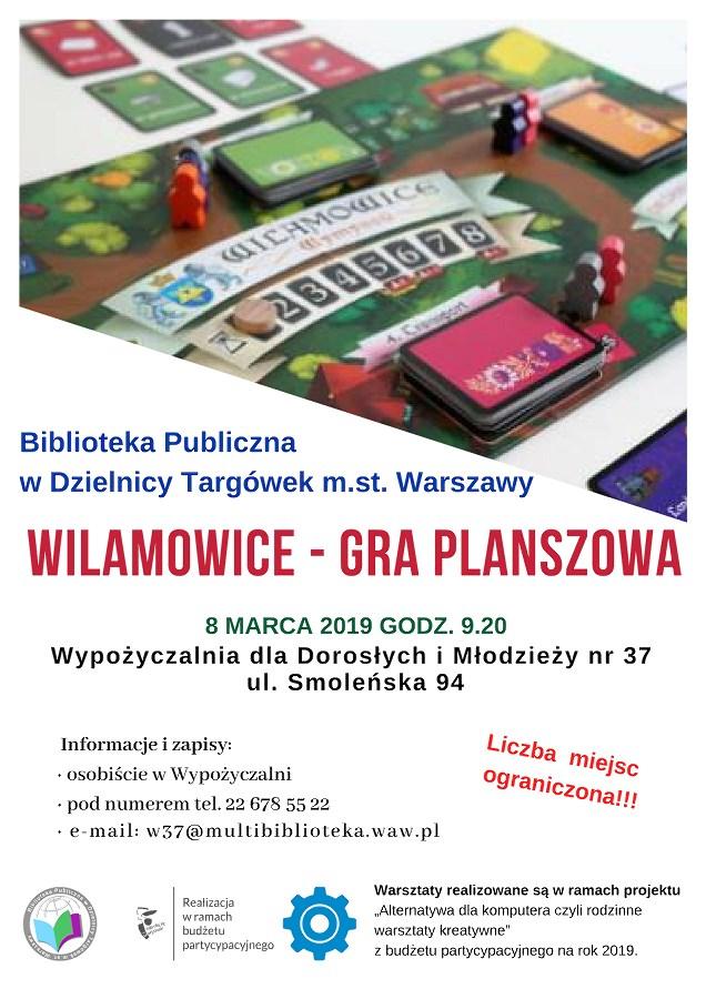 Wilamowice – gra planszowa