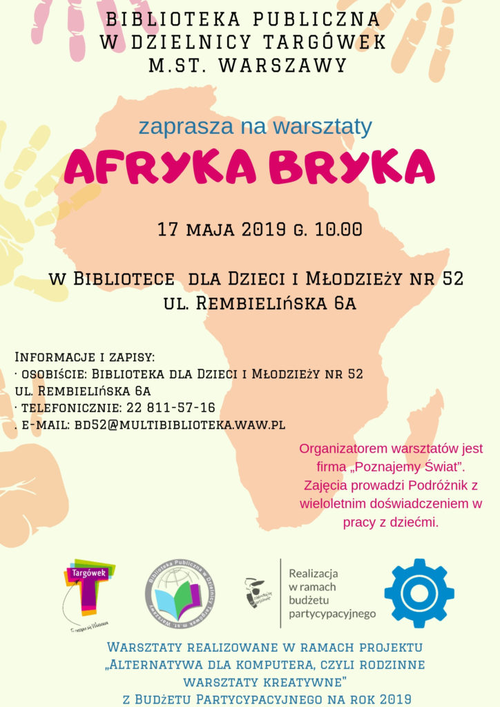 """""""Afryka bryka"""" – warsztaty podróżnicze w BD52"""