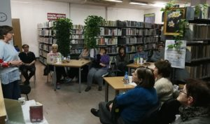 Spotkanie z Anną M. Brengos w W60