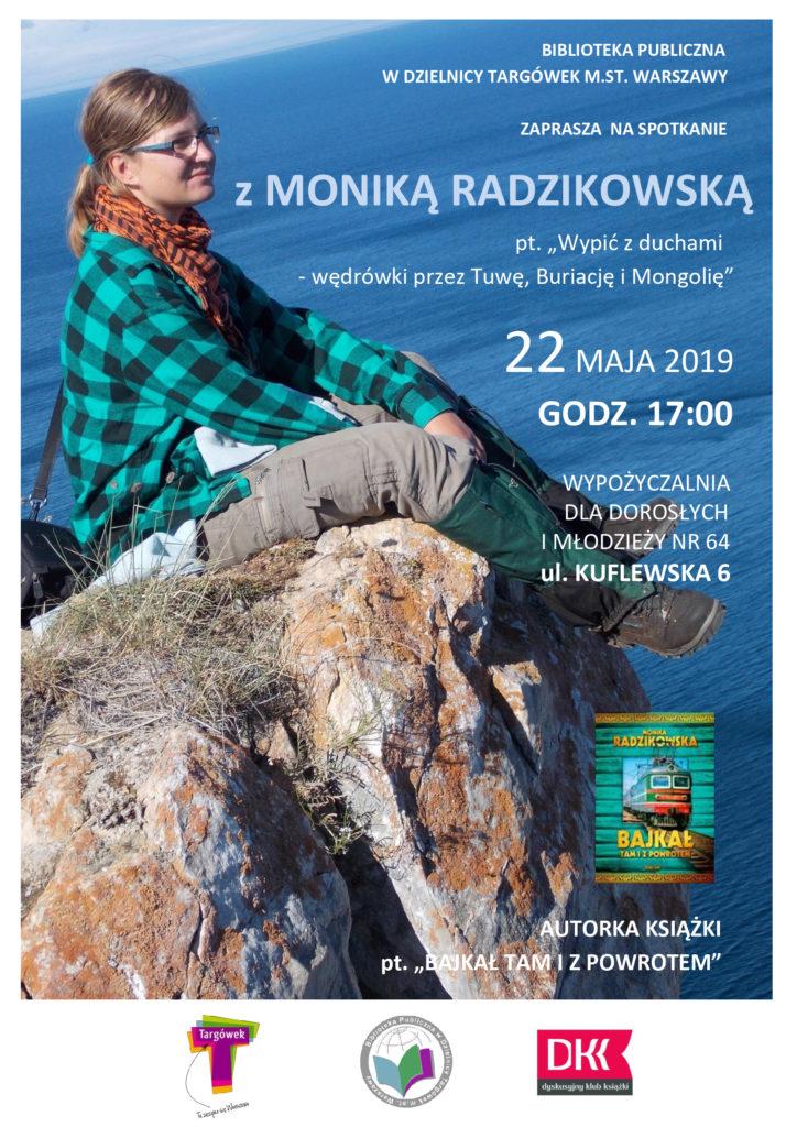 Spotkanie autorskie z Moniką Radzikowską w W64