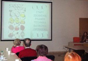 Zdjęcie z prelekcji Wielkanoc w Polsce a
