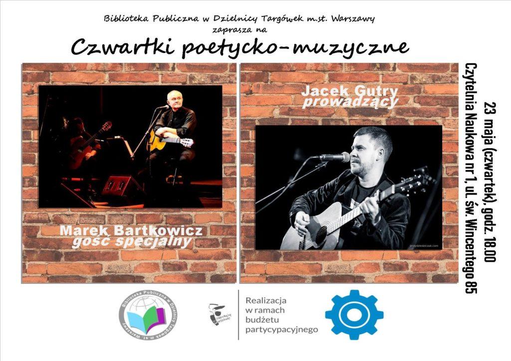 """""""Czwartek poetycko-muzyczny"""" w Czytelni"""