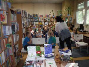Spotkanie autorskie z panią Małgorzatą Urszulą Laską w BD12