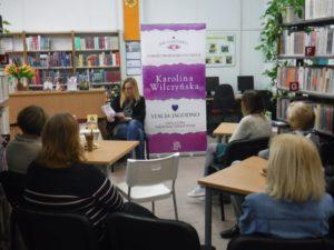 Spotkanie autorskie z Karoliną Wilczyńską w W60