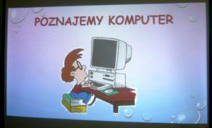 Przedszkolaki i komputer w BD65